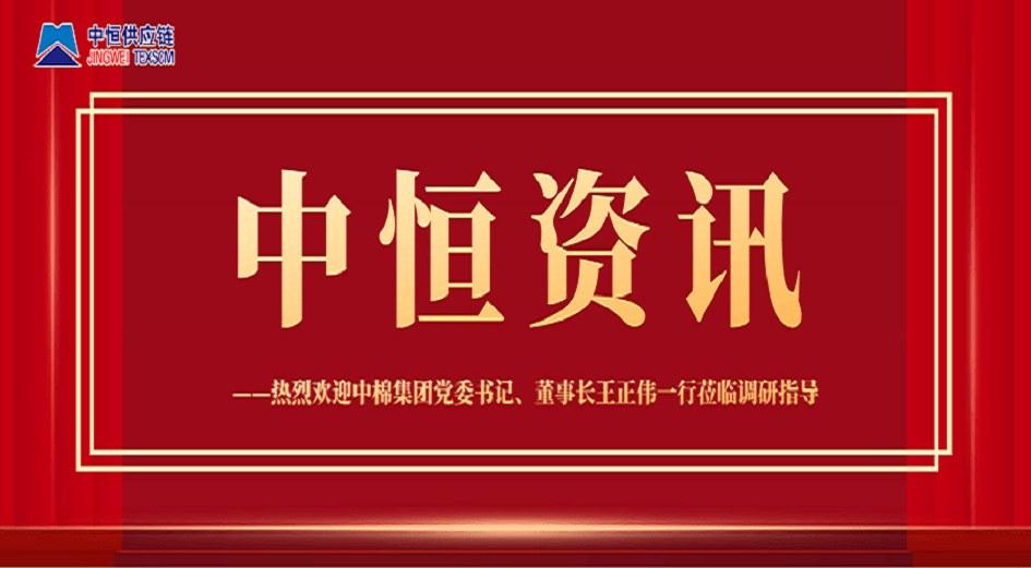 中棉集团党委书记、董事长王正伟一行莅临调研指导